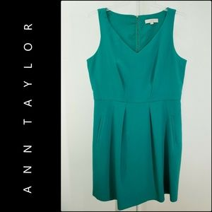 Ann Taylor Loft Woman Sleeveless Dress Size 14